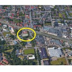 Luftbild mit dem b6-office an der b6