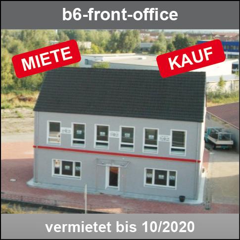 b6-front-office - ab 2020 Büros von 30 bis 240qm. Perfektes Vertriebsbüro. *Top !-direkt an der B6*. Schon jetzt reservieren! Ab 11-2020 verfügbar!
