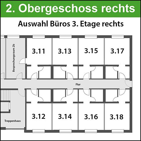 2. Obergeschoss rechts