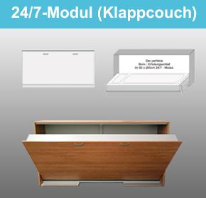 24:7-Modul-Klappcouch
