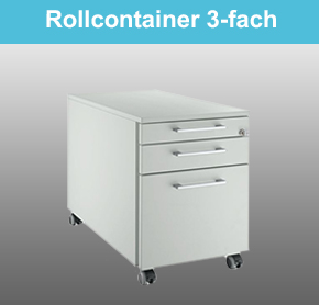 Rollcontainer 3-fach