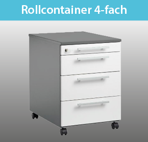Rollcontainer 4-fach