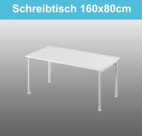 Schreibtisch 160x80cm