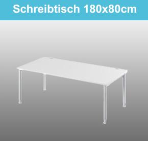 Schreibtisch 180x80cm