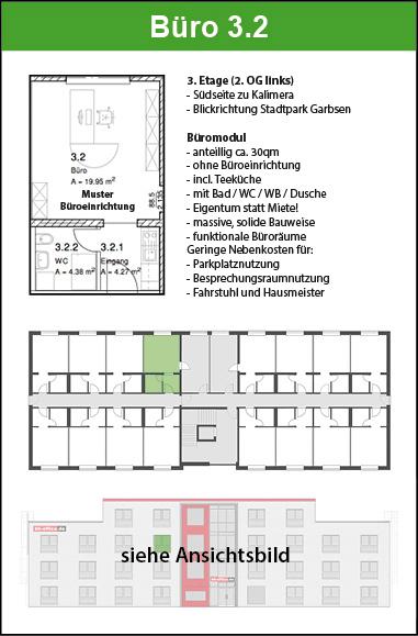Büromodul 32 2 Og Links Kauf B6 Officede