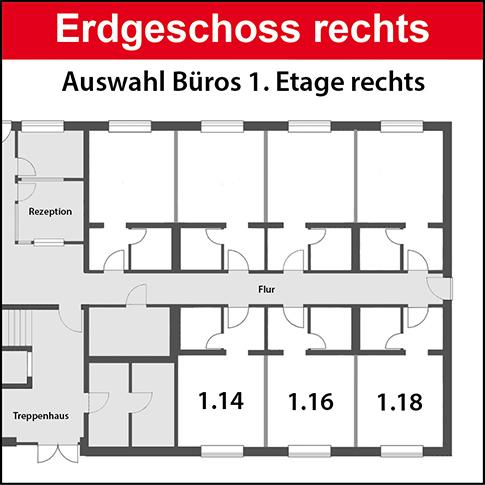 Erdgeschoss rechts vermietet bis 2024