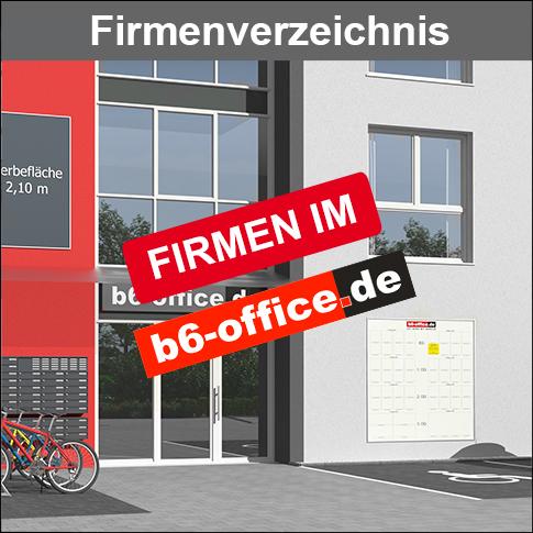 Firmenverzeichnis des b6-office